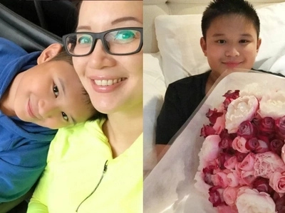 Mom decides! Sweet Bimby lets mom Kris Aquino choose who will be his future girlfriend
