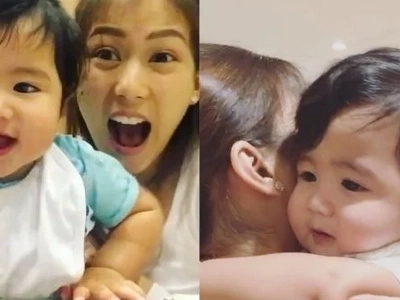 Nakakagigil talaga! Alex Gonzaga gushes about Baby Seve's cuteness in these videos