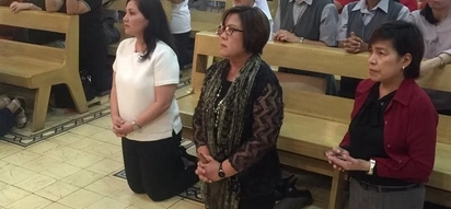 Magdasal tayo! Sen De Lima asks for prayers for the perished in the Duterte's bloody drug war