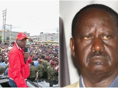 Kenya's election should not be about satisfying the ego of Raila - Uhuru