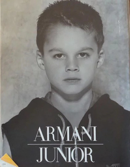 """World sexiest Math teacher"" becomes face of Armani"
