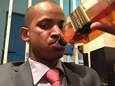 Babu Owino heads to a pub meeting after attending church (video)