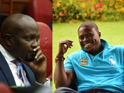 Moses Kuria is mad after Johnstone Sakaja secured release of Babu Owino