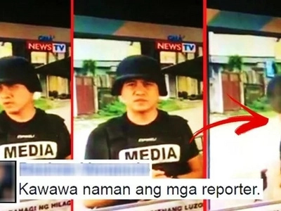 Buwis buhay na reporter! Watch Kapuso journalist Jun Veneracion get the scare of his life while reporting in Marawi City!