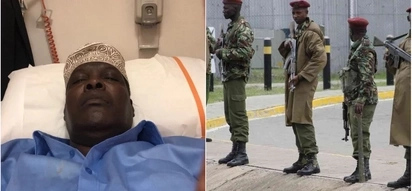 Miguna was deported by over 100 police officers