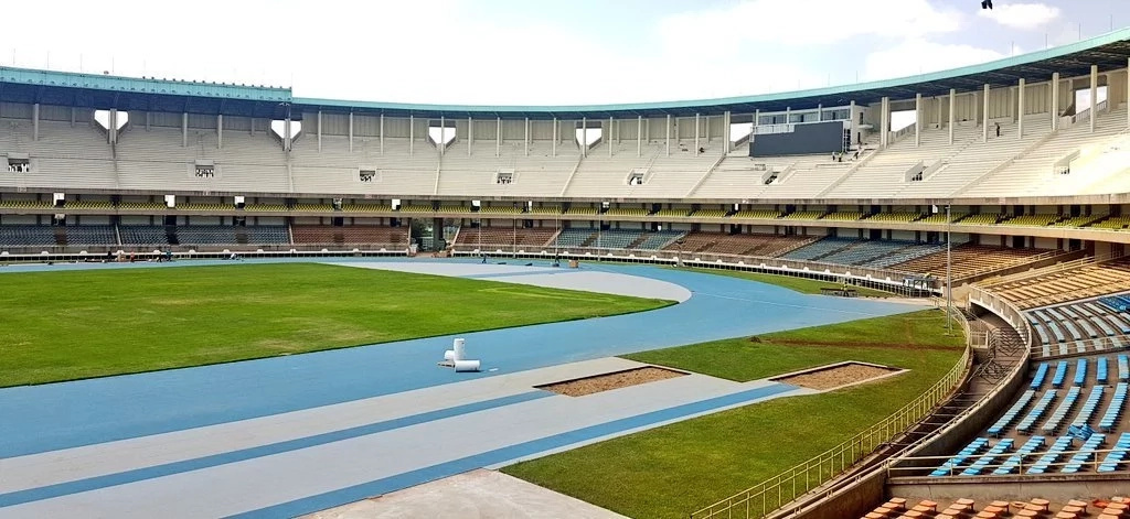 Photos of the new look Kasarani stadium light up the internet