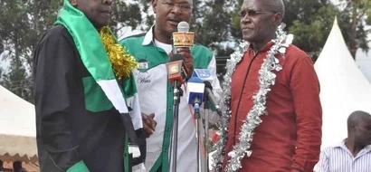 Ford Kenya's Moses Wetangula raids ODM