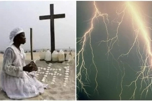 Sad! Prophetess struck to death by lightning