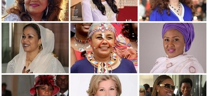 Eleven Most Beautiful First Ladies In Africa