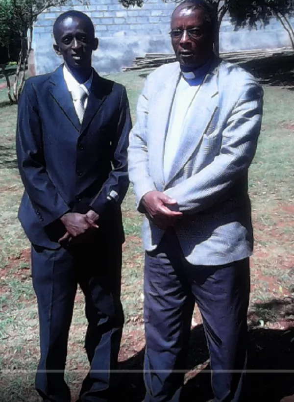 Meet Njugush's father who is a preacher at a local church