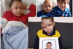 I don't want to live anymore! Boy, 8, makes heartbreaking plea to mother after his cancer returns for 2nd time (photos)