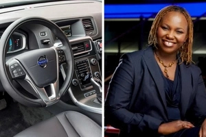 As you fight tooth and nail for an Ummoinner Matatu, this is the freaking sexy car that Carol Radull has bought (photos)