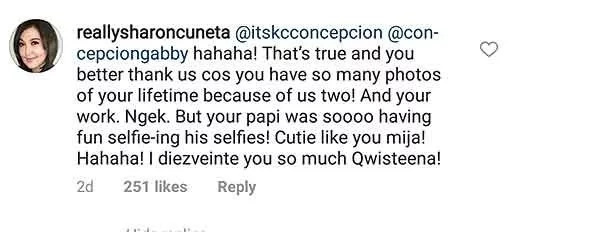 Sobrang nakakaiyak! KC Concepcion has a tearjerker message to her dad Gabby Concepcion