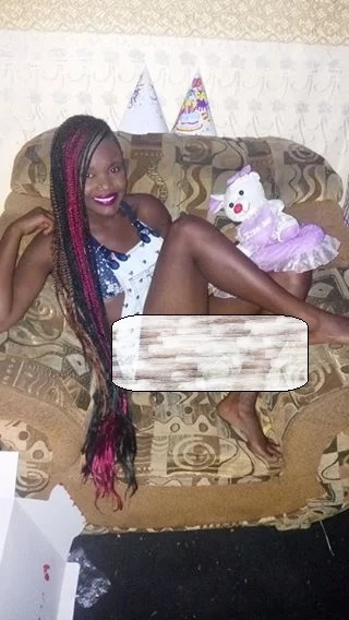 Kenyans attack an Eldoret Socialite who posted private photos online
