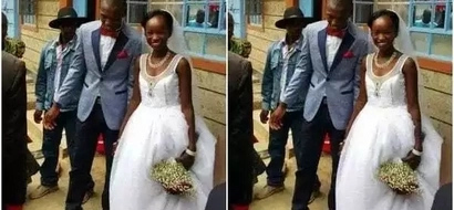 KSh 100 wedding couple takes on HATERS of their free KSh 3.5 million wedding