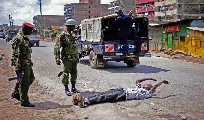 Anonymous killer cop, Hessy wa Kayole, resurfaces and warns 2 notorious criminals with summary execution