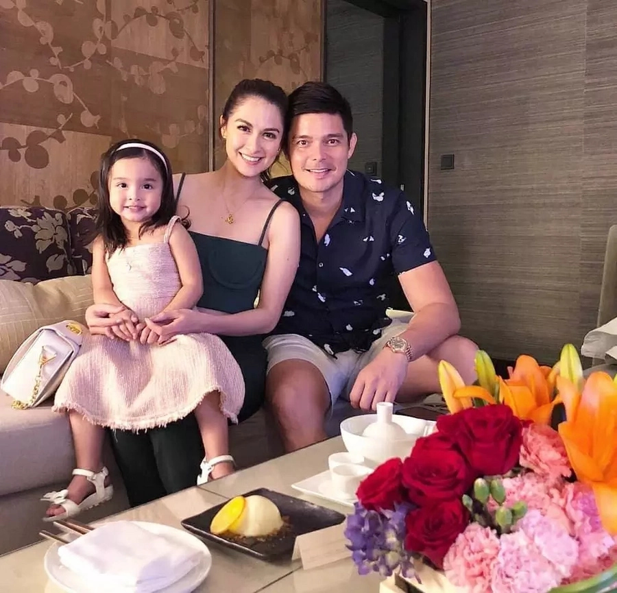 Sinulit ang espesyal na araw! Marian Rivera spends quality time with Dingdong Dantes and baby Zia on Mother's Day