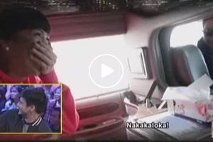 Vice Ganda gets pranked by Piolo Pascual who pretended to be his driver
