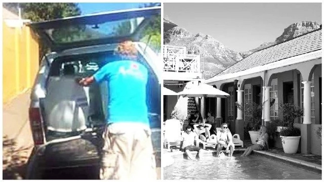 Man who bragged of using fresh water to refill pool amid scorching drought has landed in boiling water