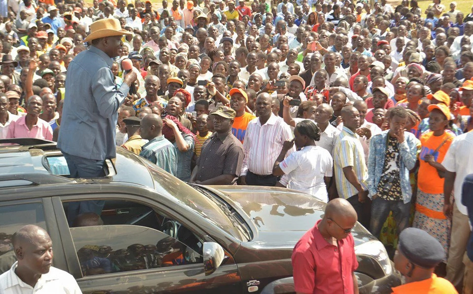 Raila Odinga angry with ODM defectors, calls them names