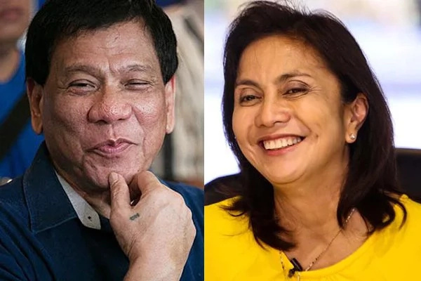 Why Leni wants to take oath with Duterte