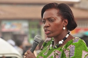 The day Martha Karua's thighs were BADLY exposed