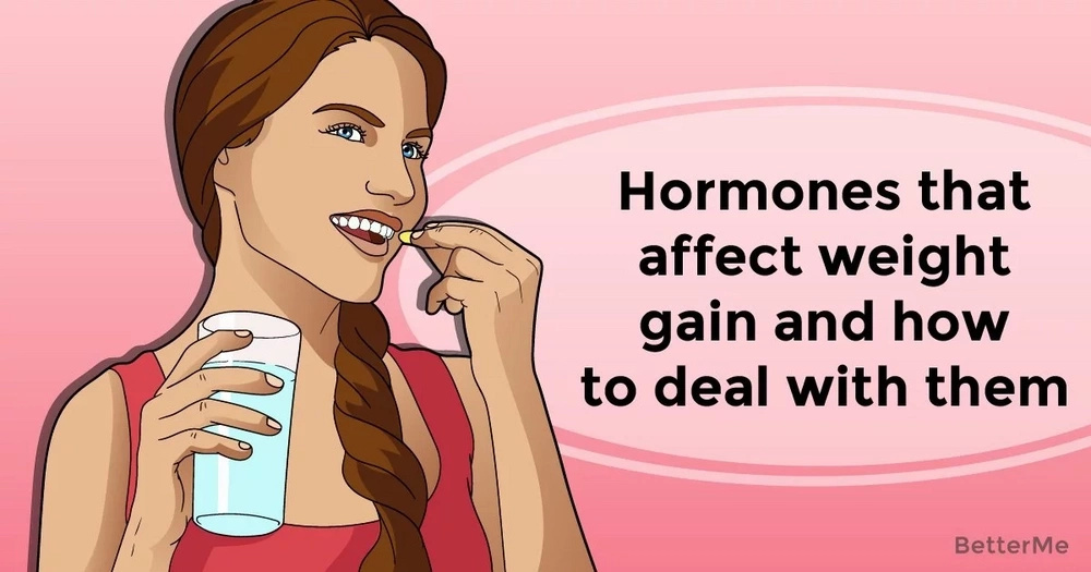 Hormones that affect weight gain and how to deal with them