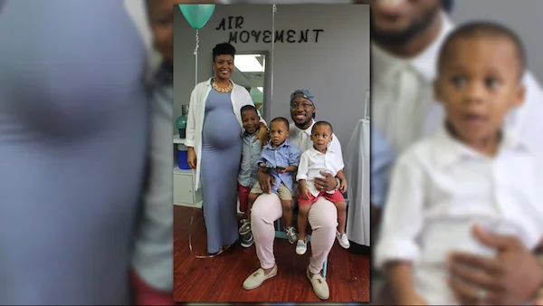 They are now expecting triplets. Photo: WUSA9