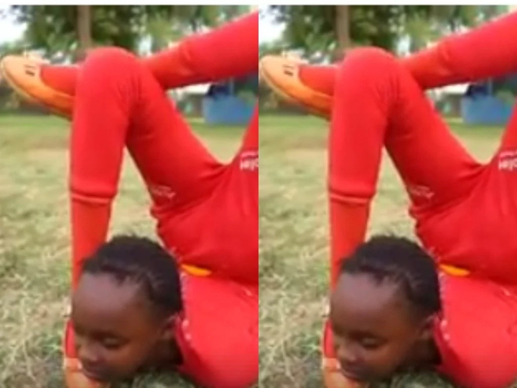 Jaw-dropping video of young Thika girl doing the unimaginable