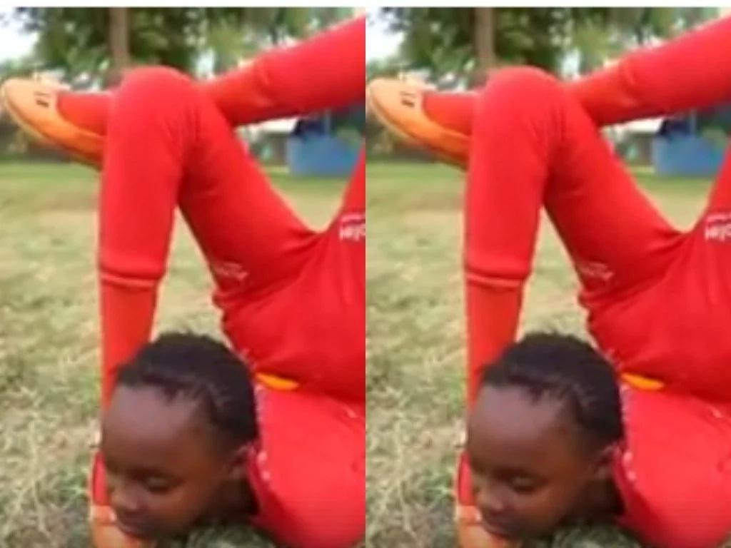 Video ya msichana itakayokushtua kutokana na talanta yake
