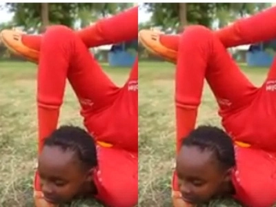 Kenyan girl lights the internet with her jaw-dropping moves (photo)
