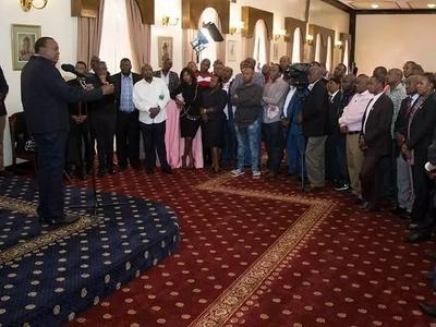 Mbunge wa Jubilee aeleza ni kwanini alivaa 'Jeans' katika mkutano wa Uhuru ikuluni