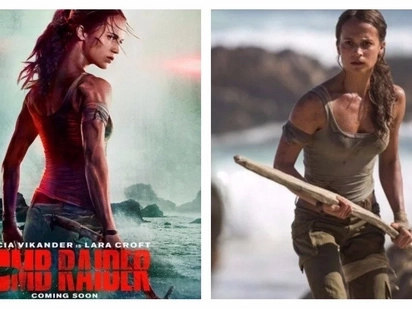 New 'Tomb Raider' movie trailer shows Lara Croft going to Philippine waters! Nakaka-excite naman!