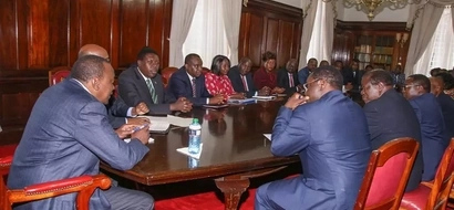 Outcome of Uhuru's meeting on fate of IEBC commissioners