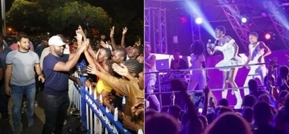 Scenes from several concerts Kenyans attended as they counted down to 2018
