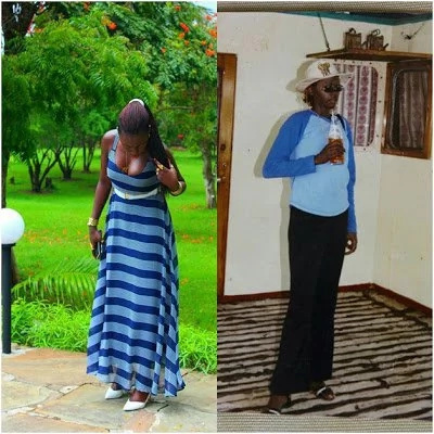 Kenyans go wild over flamboyant singer Akothee photos when she was broke