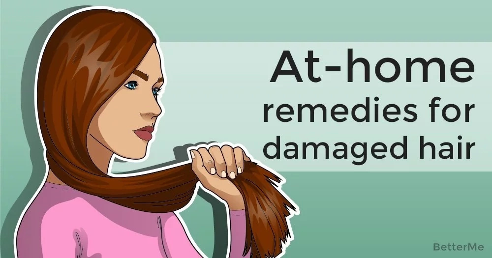 At-home remedies for damaged hair