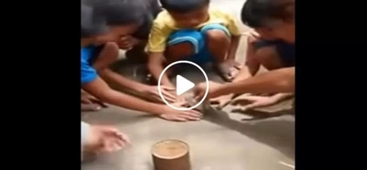 These unsuspecting kids thought they're getting the money inside the tin can...what they got instead will shock you!