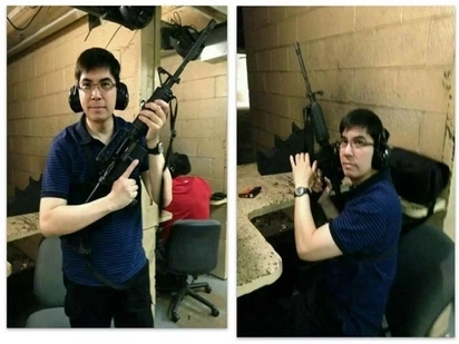 Photos show dismissed INC member Ka Angel likes guns and firearms
