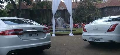 IN PHOTOS: KTN's Betty Kyallo Weds NTV's Dennis Okari