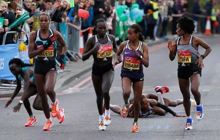 Kenyan athletes shine at the London marathon
