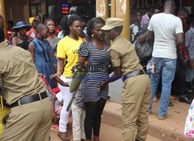 Security in Uganda looks like sex maniacs (Photos)