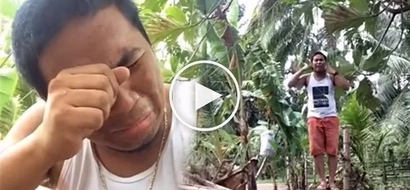 Heartbroken man attempts to hang himself but result was epic fail