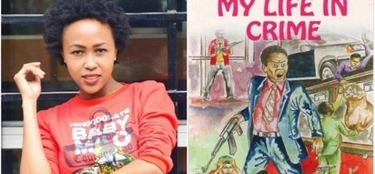 Daughter to Kenya's once most wanted bank robber slams producers of a movie on father's dark past