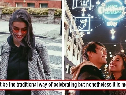 Aminin na kasi! Liza Soberano and Enrique Gil spend sweet Christmas together in London