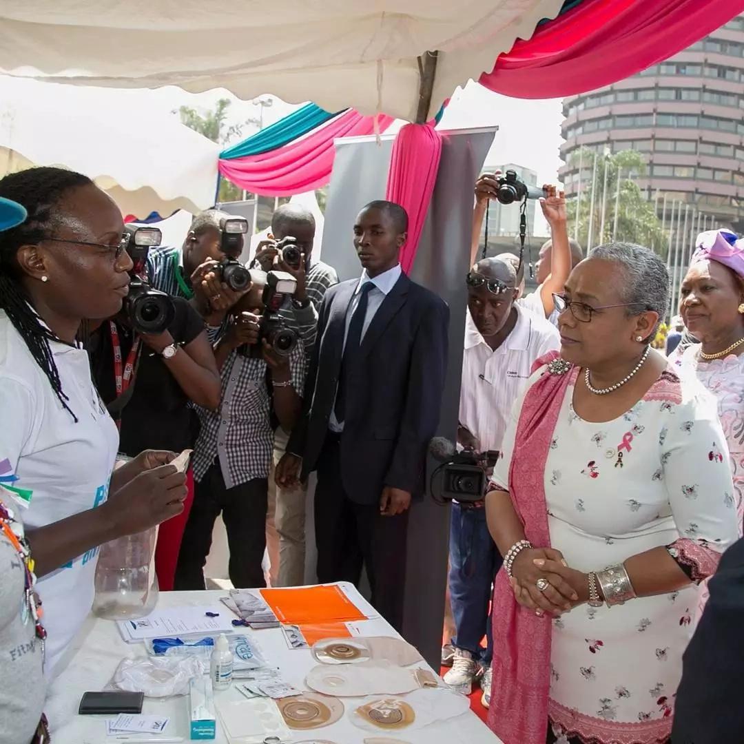 Picha za Margaret Kenyatta zinazothibitisha kuwa ni mwanamitindo