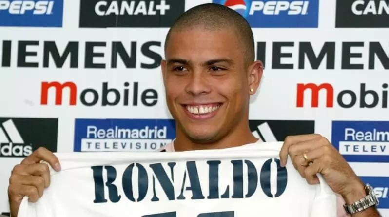 ¡El brasileño Ronaldo Nazario vuelve al Real Madrid!