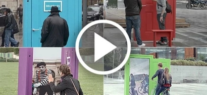Amazing video shows Magic door to other cities