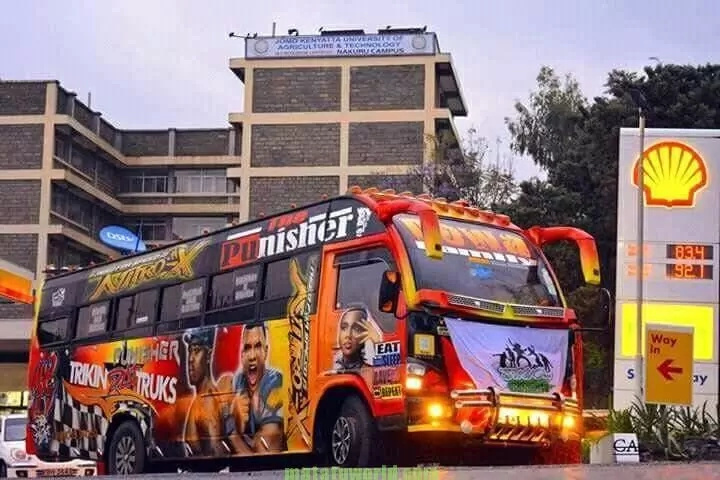 Meet the matatu that rolls like a full-blown aircraft