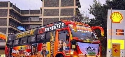 This Nairobi matatu is offering free drinks to every passenger (PHOTOS)